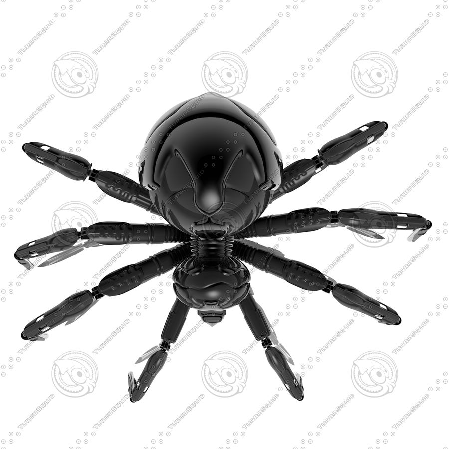 Robot Spider H-Light royalty-free 3d model - Preview no. 5