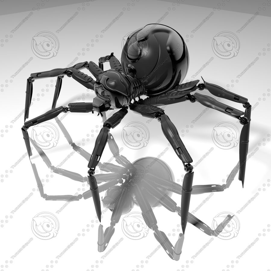 Robot Spider H-Light royalty-free 3d model - Preview no. 1