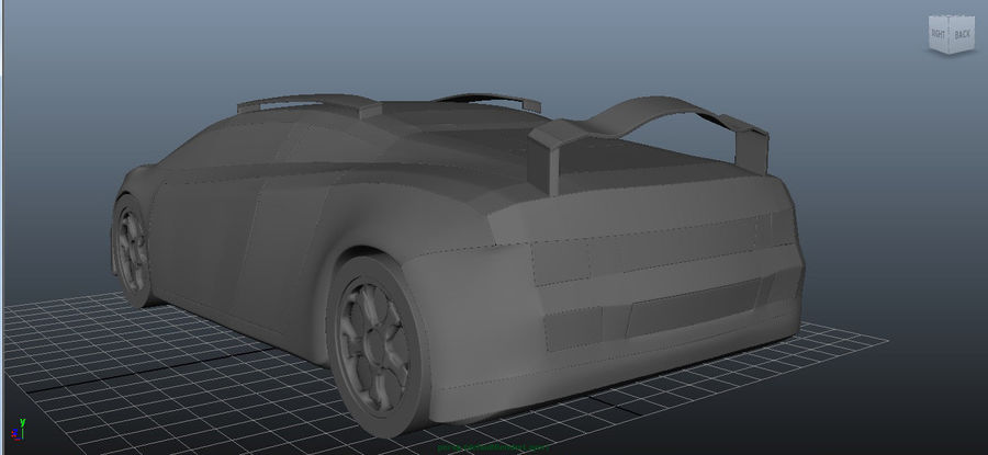 3D車 royalty-free 3d model - Preview no. 4
