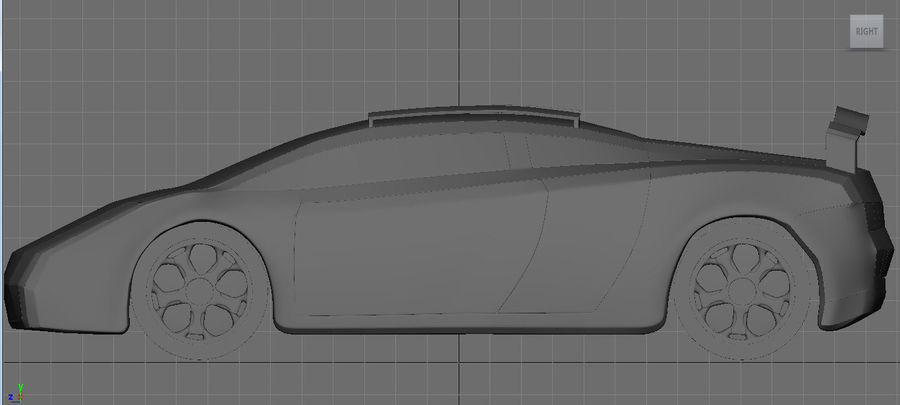 3D車 royalty-free 3d model - Preview no. 2