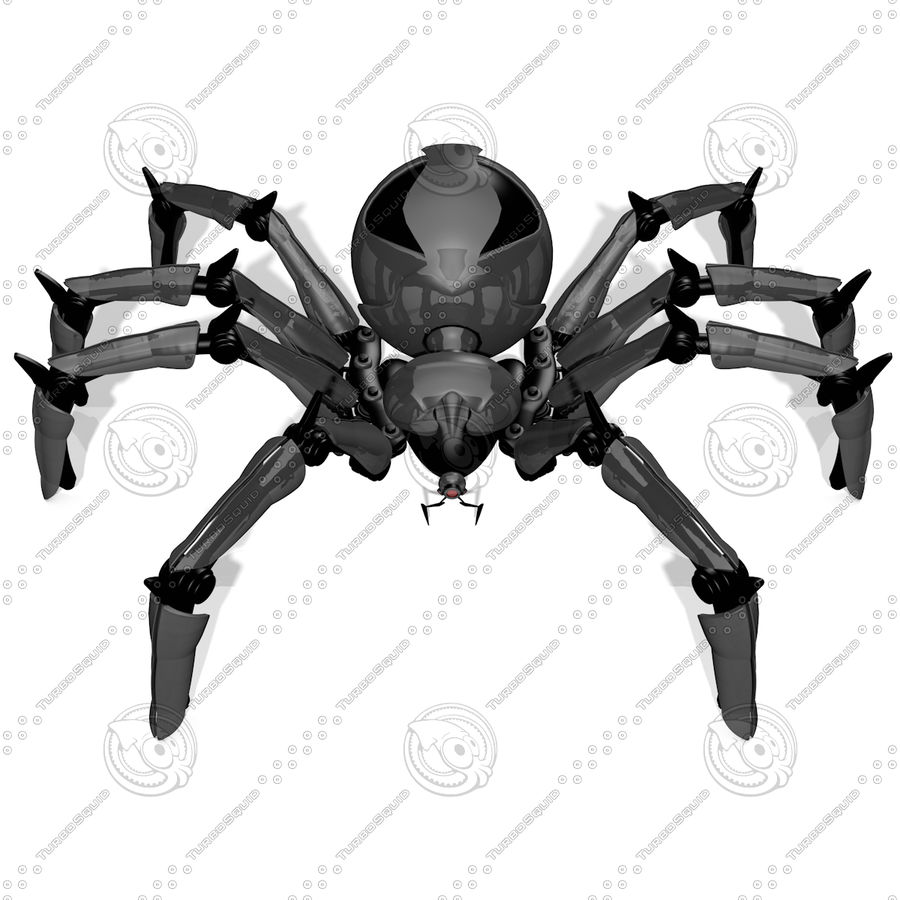 Robot Spider FG50 royalty-free 3d model - Preview no. 1