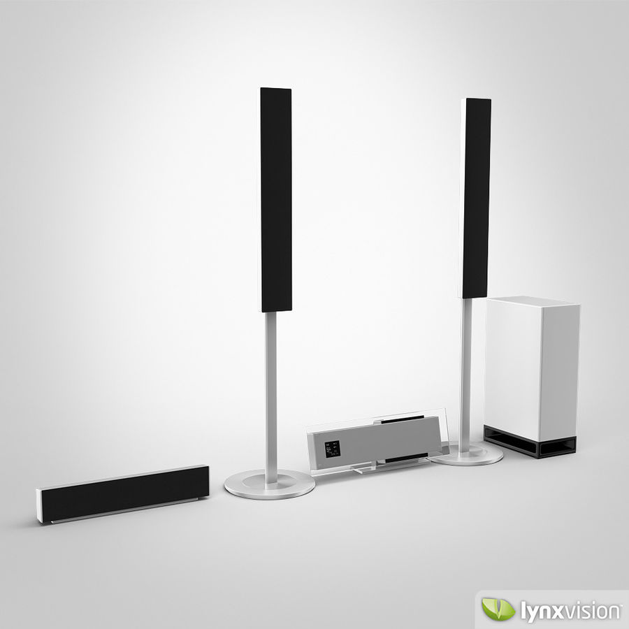 Sony Bravia Home Theater royalty-free 3d model - Preview no. 1