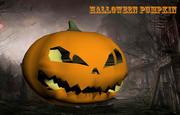 3D Halloween Pumpkin 3d model