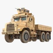 Военный грузовой автомобиль Ошкош МТВР 3d model