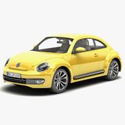 폭스 바겐 비틀 2012 3d model