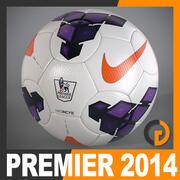 Bola de jogo da liga inglesa de 2013 2014 3d model