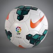 Bola de jogo da La Liga Espanhola 2013 2014 3d model
