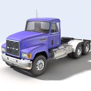 Camion degli Stati Uniti 02 3d model