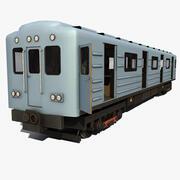 地下鉄電車2 3d model
