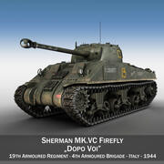 M4 Sherman MK VC Firefly - Dopo Voi 3d model