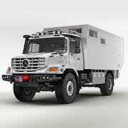 Mercedes Zetros Karavan 3d model