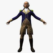 George Washington 3d model