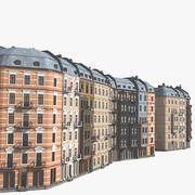 Klassisk stadsbild 3d model