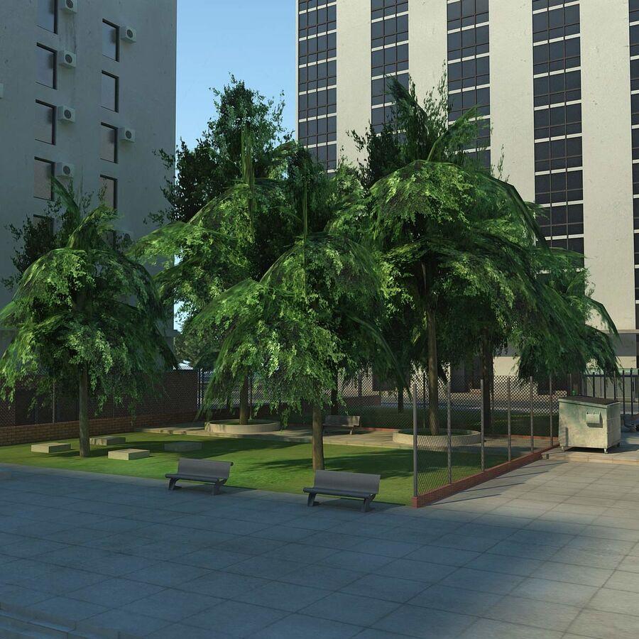 Stad gedetailleerd stadsgezicht 2013 royalty-free 3d model - Preview no. 19