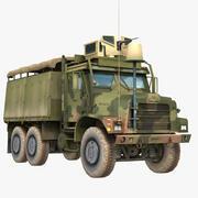 Amerikaanse militaire vrachtwagen MTVR Armor System (MAS) 3d model