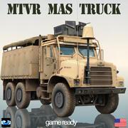 Oshkosh MTVR Militaire Truck MAS 3d model