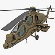 Agusta A129 Mangusta 2 3d model