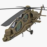 Agusta A129 Mangusta 3 3d model