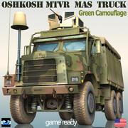 Oshkosh MK23 MTVR Armor Systeem (MAS) 3d model