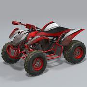 四轮沙滩车 3d model