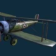WWI Fighter plane 3d model