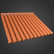 Seramik çatı 3d model