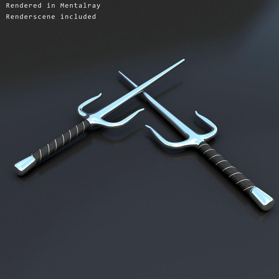 Sai royalty-free 3d model - Preview no. 4