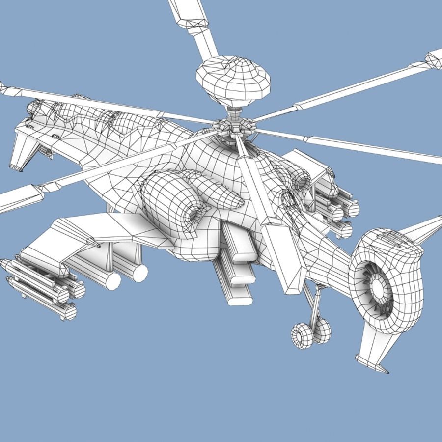 Helicopter royalty-free 3d model - Preview no. 13