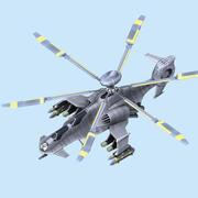 ヘリコプター 3d model