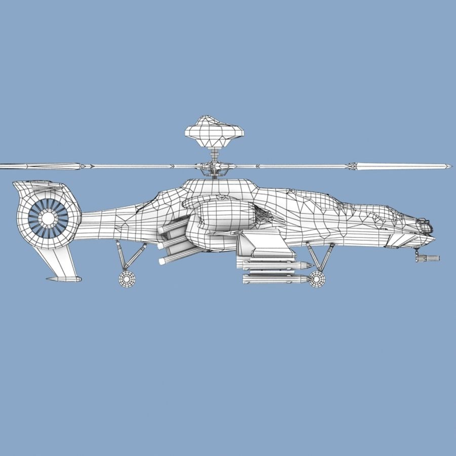 Helicopter royalty-free 3d model - Preview no. 15