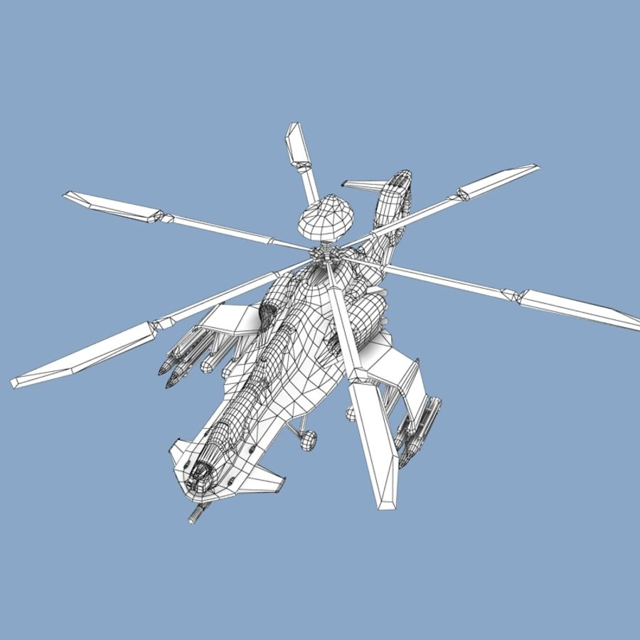 Helicopter royalty-free 3d model - Preview no. 11