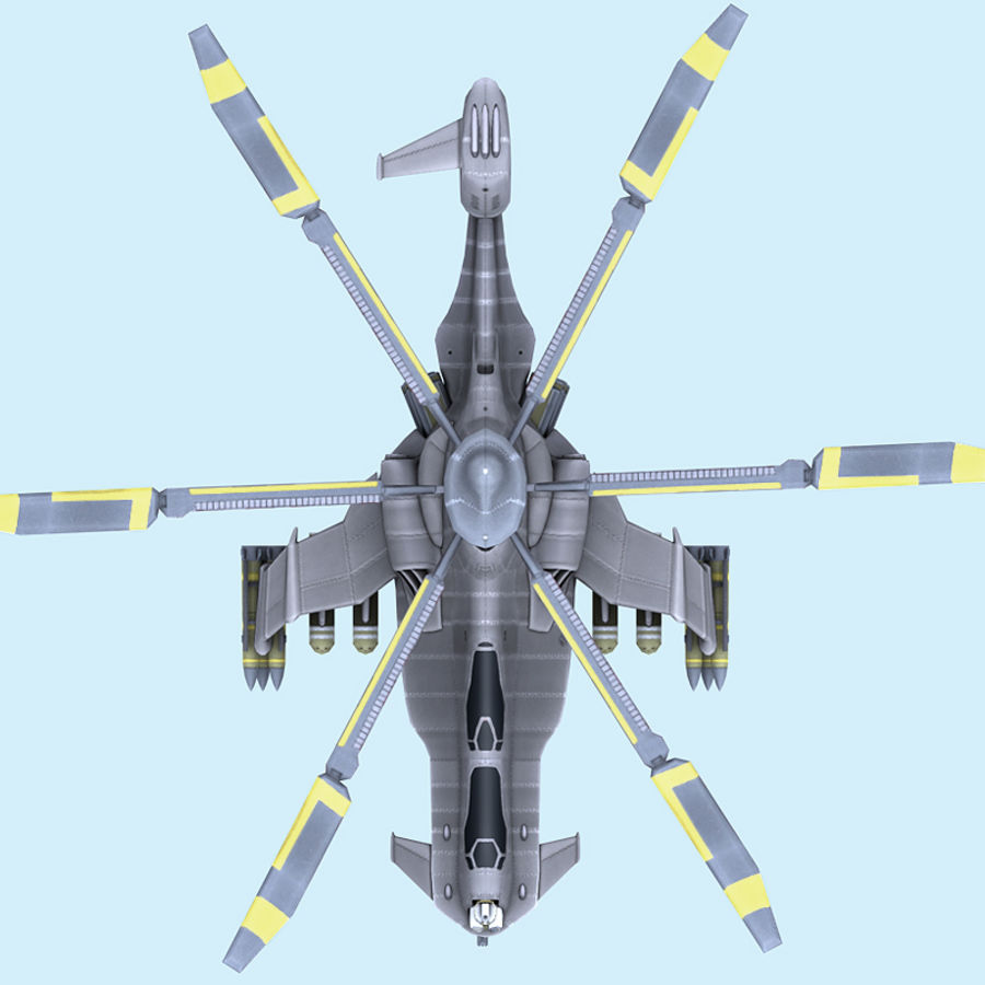 Helicopter royalty-free 3d model - Preview no. 7