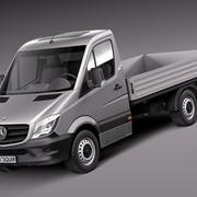 Mercedes-Benz Sprinter Pickup Short 2014 3d model