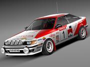 トヨタセリカ1985-1989 st165ラリー 3d model