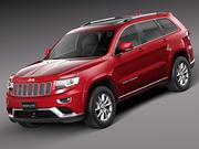 Jeep Grand Cherokee 2014 modelo 3d