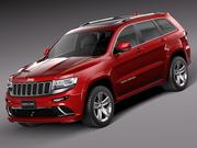 Jeep Grand Cherokee SRT 2014 modelo 3d