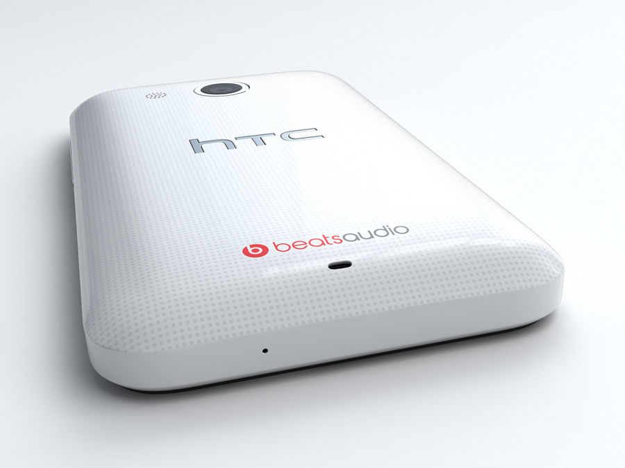 HTC Desire 200 royalty-free 3d model - Preview no. 9