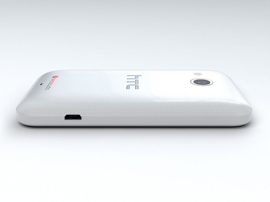 HTC Desire 200 royalty-free 3d model - Preview no. 11