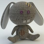 Sock Rabbit 3d model