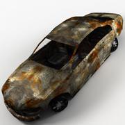 Bränd Sedan 3d model