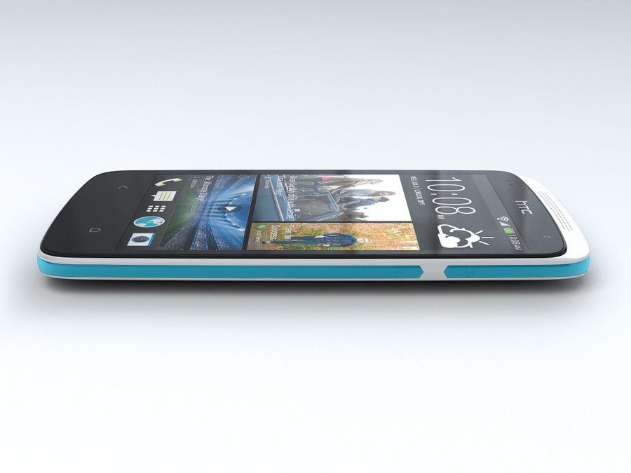 HTC Desire 500 royalty-free 3d model - Preview no. 9