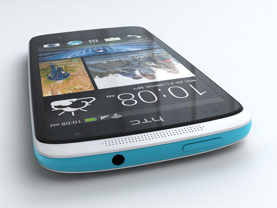 HTC Desire 500 royalty-free 3d model - Preview no. 6