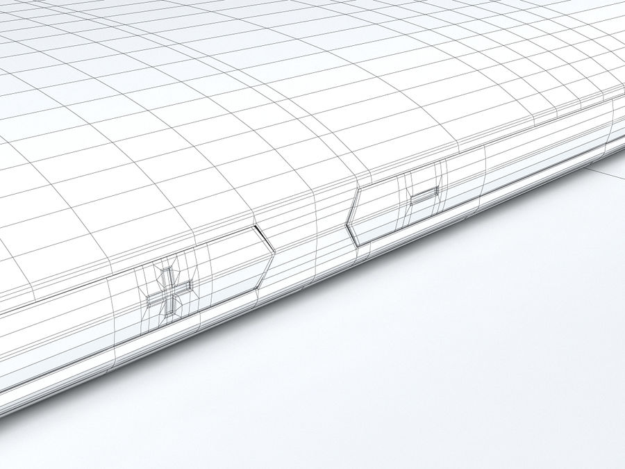 HTC Desire 500 royalty-free 3d model - Preview no. 30