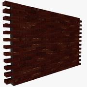 Mur de briques 01 3d model