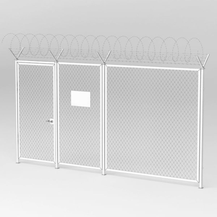 Fence032 royalty-free 3d model - Preview no. 7