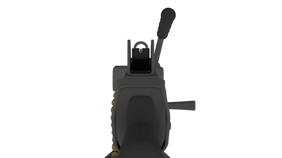 M249のこぎり royalty-free 3d model - Preview no. 4