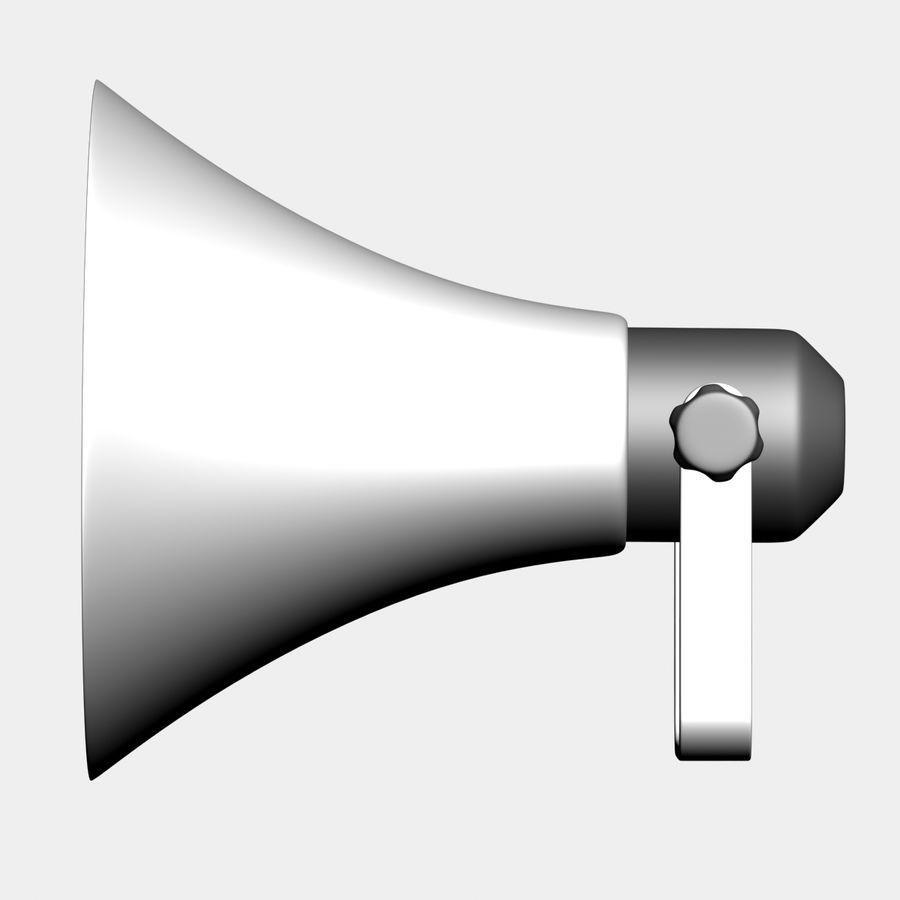 Loudspeaker Grey royalty-free 3d model - Preview no. 4
