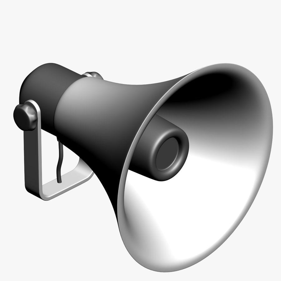 Loudspeaker Grey royalty-free 3d model - Preview no. 1