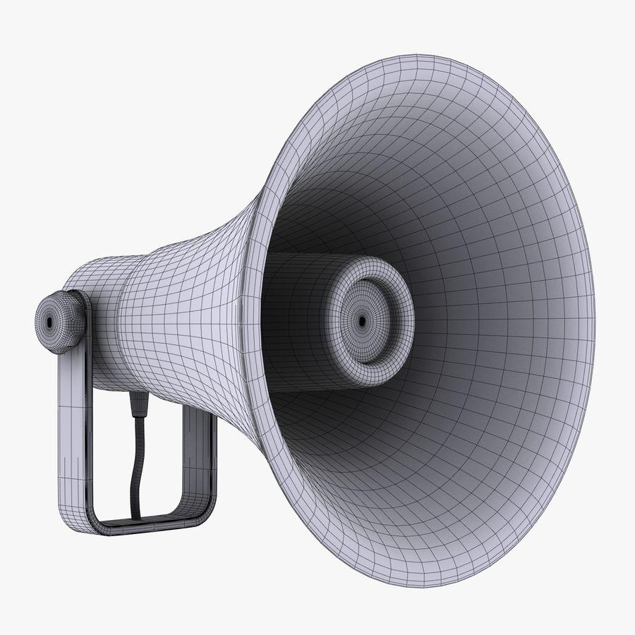 Loudspeaker Grey royalty-free 3d model - Preview no. 9