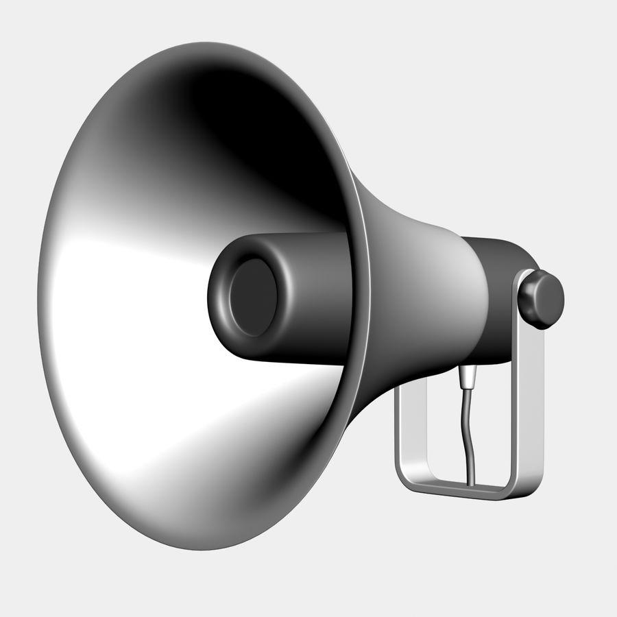 Loudspeaker Grey royalty-free 3d model - Preview no. 7
